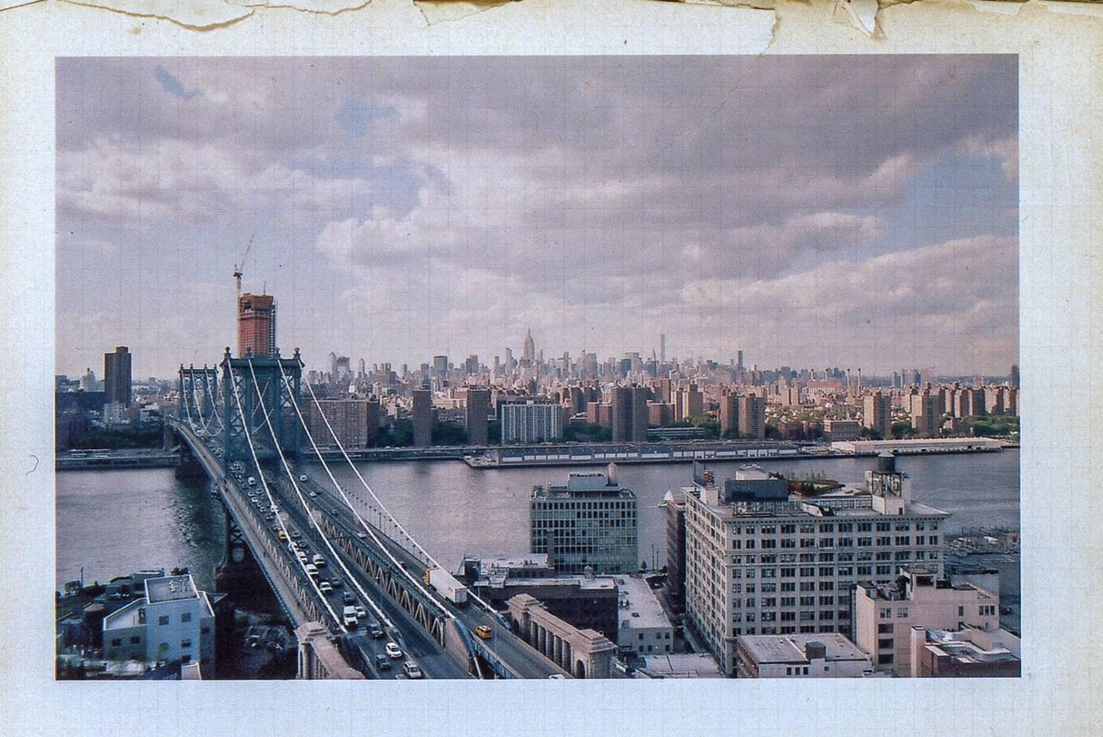 landscape of new york city from dumbo brooklyn